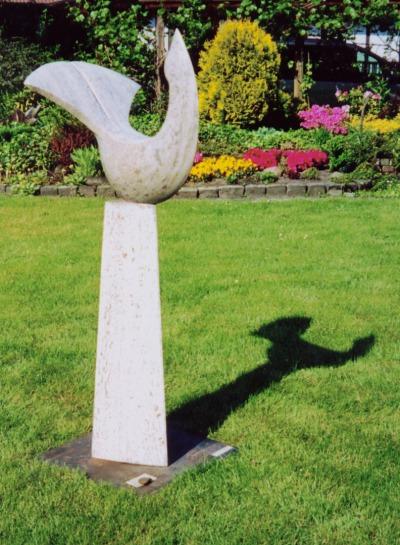 Skulptur Garten Bildhauerei Olfen Haltern Muschelkalk
